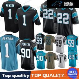 1170e74ba Football Jersey Luke UK - 1 Cam Newton Panther jersey 22 Christian  McCaffrey 59 Luke Kuechly