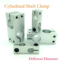 clamp diameter Australia - Connector Optical Axis Cross Clamp Connector Block Locking Fixing Block Aluminum Vertical Fixing Clamp Optical Axis Clamp Different diameter