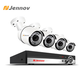$enCountryForm.capitalKeyWord Canada - Jennov 4CH 1080P 2MP Camera POE Security Camera System Video Surveillance Kit IP HDMI P2P NVR Set Cloud Remote View Night Vision