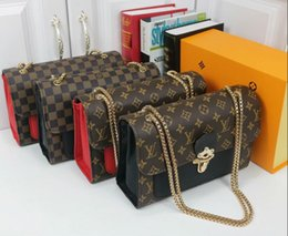 Genuine Leather Handbag Cowhide Shoulder Bag Australia - Designer Handbags high quality Luxury Handbags Famous Brands handbag women bags Real Original Cowhide Genuine Leather chain Shoulder Bags 86