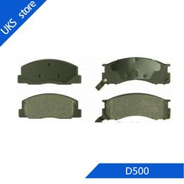 set brake pads Australia - 4piece set Car Brake Pads FRONT D500 for Previa 1991-1994