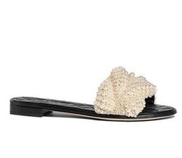 $enCountryForm.capitalKeyWord Australia - 2018 Hot Fashion European String Bead Women Flat Slippers Outdoor Open-Toe Leisure Sweet Summer Slides Women Shoes
