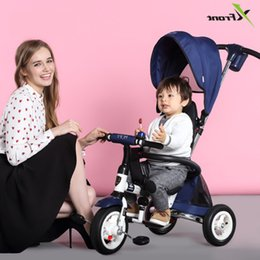 Discount bike car seats - New Brand Child Tricycle High Quality Swivel Seat Child Folding Trolley Bicycle Baby Buggy Stroller Bmx Baby Car Bike
