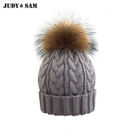 17b00d4ab Shop Knitted Raccoon Hat Wholesale UK | Knitted Raccoon Hat ...