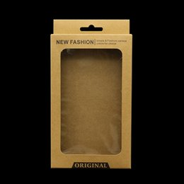 $enCountryForm.capitalKeyWord Australia - kraft brown Paper Retail Packaging Package Carton Box For iphone 8 7 6 Plus 5 mobile Cell Phone Case big size