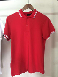 England tEE shirts online shopping - On Sale England fred Men Solid Polo Shirts Leaf Embroidery Twin Tipped Cotton Short sleeved London Polos Tennis perry Tees Black White
