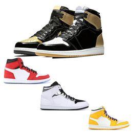 $enCountryForm.capitalKeyWord Australia - New shelves men basketball shoes obsidian high OG GYM RED 1 sports shoes Spider-Man UNC 1s top 3 Phantom sports designer sports shoes
