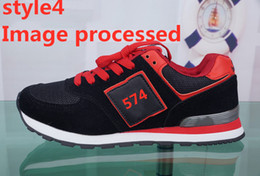 $enCountryForm.capitalKeyWord NZ - 574 brand men's designer shoes 2019 spring new breathable running sneakers female Korean version of A-Gump wild casual students n letter