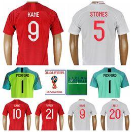 1a6b7c317 2018 World Cup 9 KANE Soccer Jersey 10 STERLING Men Football Shirt Kits 14  WELBECK 5 STONES 2 WALKER White Custom Name Number