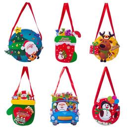 $enCountryForm.capitalKeyWord Australia - Christmas Paper Gift Bag Pattern Santa Claus Snowman Candy Gift Holders Snack Packet Handbag Kids Xmas Stocking Home Party Decor