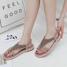 $enCountryForm.capitalKeyWord Australia - YOUYEDIAN Womens Sandal Ladies Crystal Footwear Fashion Buckle Beach Soft Shoes Casual Roman Bohemian Sandals sandale femme 2019 zx6