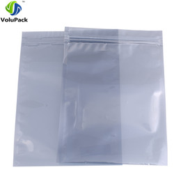 China 15x23cm (6x9.1in) barrier Anti-Static Bags waterproof Translucent zip lock Antistatic Shielding Bags 100pcs supplier barrier bags suppliers