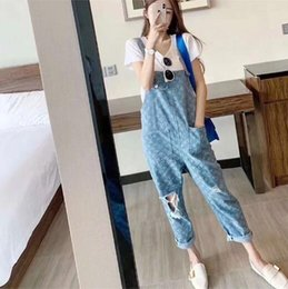 Large doLLs online shopping - Social women s suspenders fast red hand web celebrity ghost doll with popular logo printing holes loose large size suspenders women
