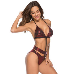 1edb6c4b5d8 Hot Style Women's Split Deep V Swimwear Classy Sexy Extreme Micro  Transparent Low Waist Bikini Swimsuit