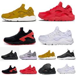 0974a3e1e3cab High Top Huarache UK - 2019 Huarache 1.0 4.0 Running Shoes Men Women Top  Quality Stripe