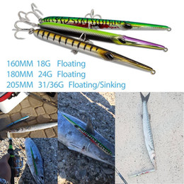 $enCountryForm.capitalKeyWord UK - Hunthouse needle stylo fishing lure long casting pencil stickbait floating&sinking 205mm 31 36g skipping garfish sphyraena pesca