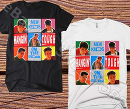 Funny Blocks Australia - New Kids On The Block T-Shirt Hangin' Tough Vintage Black & White Tee Repro '88 Funny free shipping Unisex Casual Tshirt top