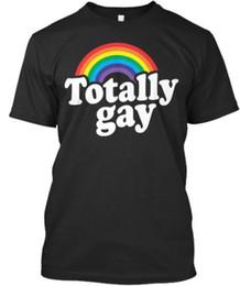 $enCountryForm.capitalKeyWord Australia - High Quality Custom Printed Totally Gay Men's T-Shirt Men's Clothing T-Shirts Tees Men Hot Cheap Short Sleeve Male