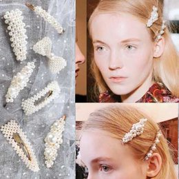 $enCountryForm.capitalKeyWord NZ - Hot Selling Fashion Hair Clip For Women Girl Hair Accessories Headwear Full Pearl Beautiful Hairpins Hair Ornament