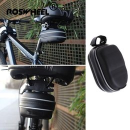 bike post Australia - Bike Saddle Bag Bicycle Seat Post Tail Storage Pouch Cycling Panniers Waterproof Drosphipping