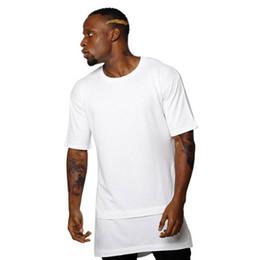 $enCountryForm.capitalKeyWord Australia - FJUN hip hop t shirt men white black tshirt extend false 2 piece short sleeve hot sale fashion trend loose cotton top tees