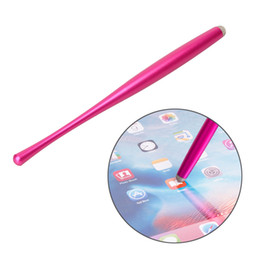 capacitive touch screen pens UK - Canton Tower waistline metal all tablet touch-precision Small pretty waist stylus capacitive pen touch pen good Grip feeling 500ps