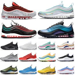 $enCountryForm.capitalKeyWord Australia - High Quality Running shoes for men women Tie Dye Silver Bullet triple black CLEAR EMERALD NEON SEOUL mens trainer fashion sneakers runners