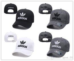 Venta al por mayor de 2019 nbspAdidas Golf hat Casquette gorra Snapback Gorras Gorra de béisbol ajustable hip hop Hat Snap back bone Moda papá sombreros