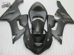 aftermarket fairing kits zx6r Australia - Free Custom ABS fairing kit for Kawasaki Ninja ZX-6R 2005 2006 ZX6R 636 05 06 matte black aftermarket fairings set