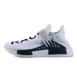 Adidas human race Nova alta qualidade do ar respirável moda sapatos ao ar livre homens e mulheres venda quente multicoloridos de esportes respirável sapatos 36-46 venda por atacado