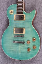 $enCountryForm.capitalKeyWord Australia - New Rare Custom Shop Standard Seafoam Green Guitar with guitar case Mahogany Body One piece neck China electric guitars