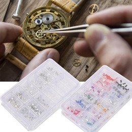 Part kits online shopping - 12 Types DIY Rhinestones Decoration Spare Part Accessory Watch Repair Tools Watchmaker Tools Watch Parts Repair Kit