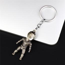$enCountryForm.capitalKeyWord Australia - DAIHE new products popular Marvel hero model Iron Man Spider-Man Captain America destroys alloy keychain pendant