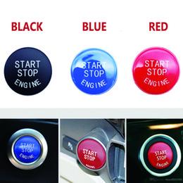 Toptan satış Araba Motoru Başlatma Durdurma Düğmesi 3 5 7 F10 F25 F15 F25 F30 F48 E60 E70 E71 E90 E92 E93 X1 X3 X4 X5 X6 BMW 1 için Kapak Fit değiştirin