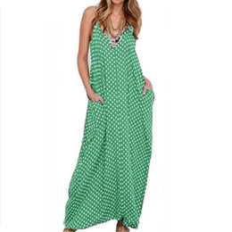 China Women Summer Sleeveless Sexy V-neck Stripe long Dress Tunics for the beach solid Ropa de mujer Elbise fashion Dresses brazil cheap natural crystal brazil suppliers