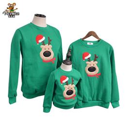 Family Christmas Shirts Australia - Family Clothing 2019 Autumn Winter Sweater Christmas Deer Children Clothes Kid Shirts Polar Fleece Warm Family Matching Outfits J190517