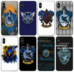 iphone case harry potter Canada - [TongTrade] Ravenclaw Harry Potter Case For iPhone 11 Pro Max X XS 8s 8 7s 7 6s 6 Samsung J1 J3 J5 Huawei P7 Lite Redmi Note 4 Fashion Case