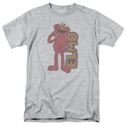 $enCountryForm.capitalKeyWord UK - Sesame Street Vintage Elmo Licensed Adult T Shirt Funny free shipping Casual Tshirt top