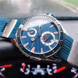 Marine Luxury Watch Australia - UN MARINE DIVER Top quality luxury mens watches SJ factory automatic mechanical sapphire glass Power reserve phase waterproof 263-10-3 93