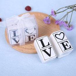 $enCountryForm.capitalKeyWord Australia - Square Shape Ornaments Love Seasoning Pot Practical Wedding Favors Party Gifts Valentines Day Black Font Exquisite Packaging 3 5tzC1
