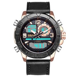 $enCountryForm.capitalKeyWord UK - SBAO Men's Watch Outdoor Waterproof Rotating Outer Disk Multi Function Electronic Watches man sports watch 2019 relogio digital