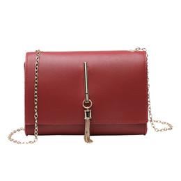 $enCountryForm.capitalKeyWord UK - 2019 New Brand Fashion Women Shoulder Chain Bag PU Leather Tasslel Small Handbags Female Mini Mobile Phone Bag for Ladies Girls