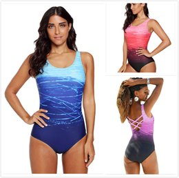 $enCountryForm.capitalKeyWord Australia - One Piece Swimsuits Women Gradient Criss Cross Back Monokini Teddy Swimwear