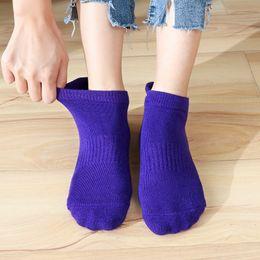 $enCountryForm.capitalKeyWord Australia - High Quality Women's Yoga Sock fitness Pilates Socks Non-Skid Dance Socks Breathable Cotton Socks Towel Bottom Drop Shipping