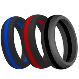 $enCountryForm.capitalKeyWord Australia - tourmaline 9MM Size 5-15 Silicone Rubber Multi Color Hypoallergenic Crossfit Flexible Ring Band Wedding Engagement Statement Cocktail