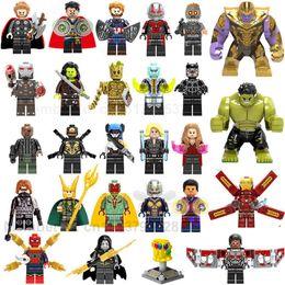$enCountryForm.capitalKeyWord Australia - 27pcs lot Heroes Building Blocks Figures Kids Toys For ChildrenMX190820