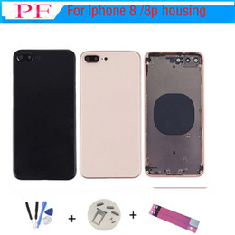 For iphone 8 8G 8 Plus New Back Middle Frame Chassis Full Housing Assembly Battery Cover For iphone 8 back Housing on Sale