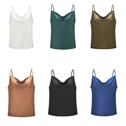 Sexy Army Shirts Australia - Women Tank Top Sexy Camisole Tees Shirt Sling Strap Sleeveless Vest Casual Beach Female Tops
