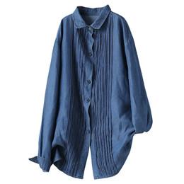 87080b7b37c5bf Silk Collar Blouse UK - Spring Blouse Fashion Slim-type Vintage Women Shirt  New Tops
