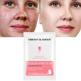 $enCountryForm.capitalKeyWord Australia - New VG Serum Protein Face Masks Relieve The Redness Save Sensitive Skin Wholesale Moisturizing Brighten Products